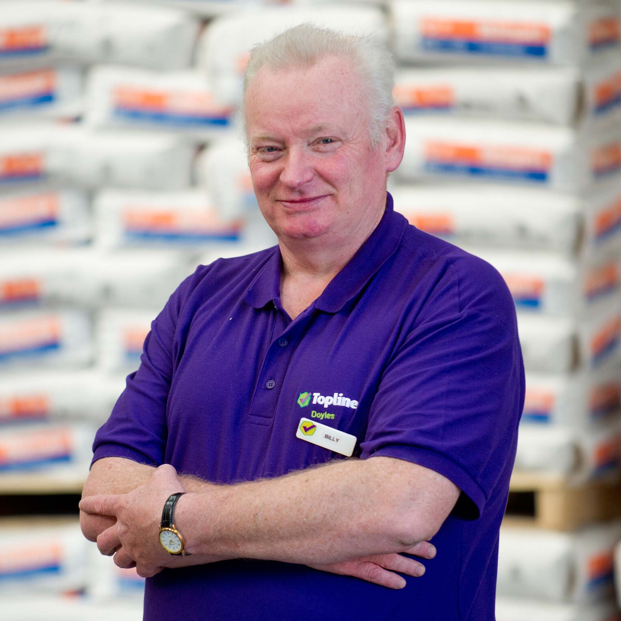 Stores and Yard Team - Billy McHutcheon