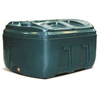 Kingspan Titan  EcoSafe Bunded Low Profile Oil Tank Bottom Outlet - 650 Litre