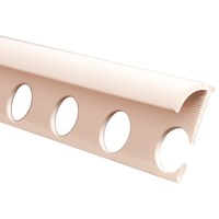 Trojan  Plastic Tile Trim 2500mm - White
