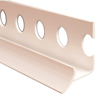 Trojan  Plastic Corner Profile 9mm - White