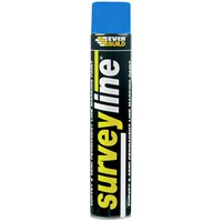 Everbuild  Surveyline Paint 700ml - Blue