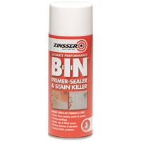 Zinsser  B-I-N Primer Sealer Aerosol - 400ml