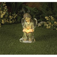 Premier Decorations  Solar Angel Reading Light