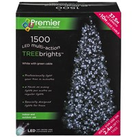 Premier Decorations  1500 LED Treebright Lights - White