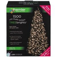 Premier Decorations  1500 LED Treebright Lights - Warm White