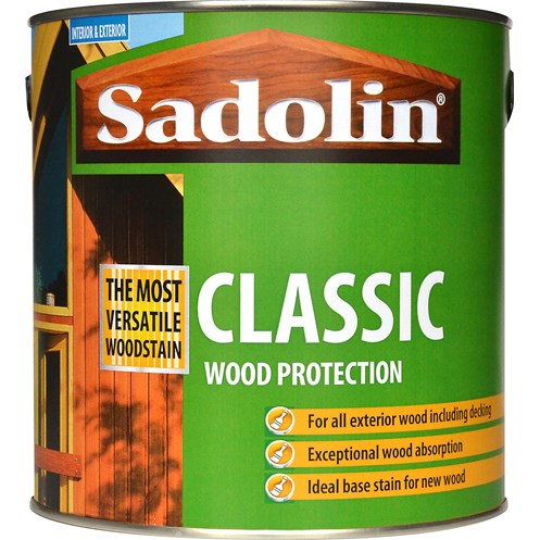 Sadolin Woodstain Classic Colours Woodstain - 2.5 Litre