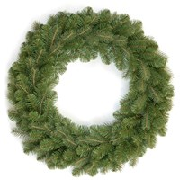 National Tree Company  Feel Real Bayberry Spruce Christmas Wreath - 24in