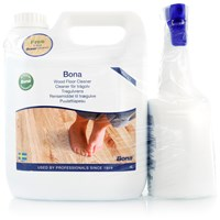 Bona  Wood Floor Cleaner - 4 Litre Refill + Free 1 Litre Spray