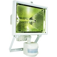 Elro  Halogen Floodlight with Motion Sensor 400W - White